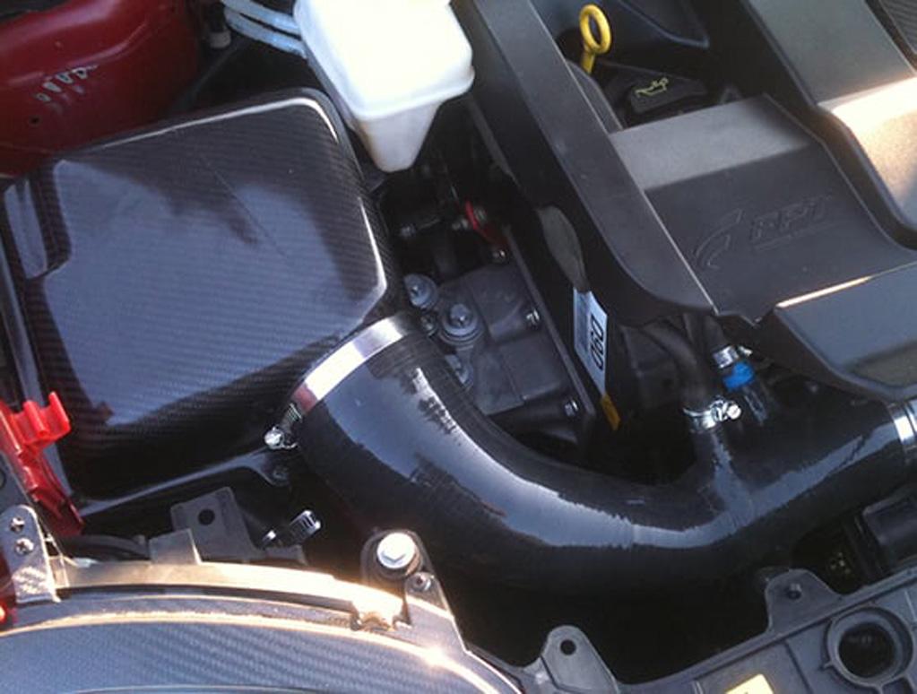 Carbon fibre multi-air induction kit