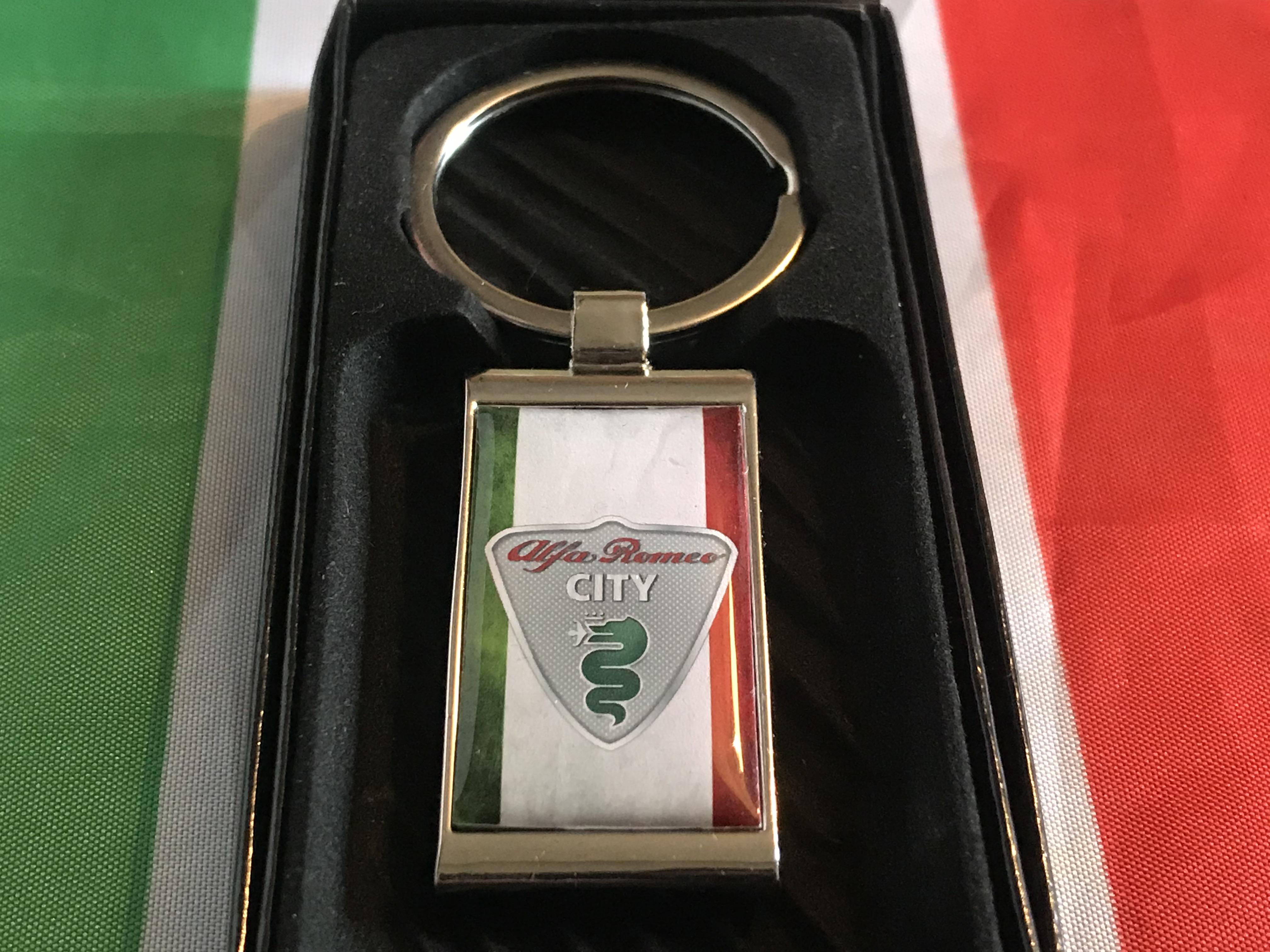 Alfa Romeo City Car Key Ring
