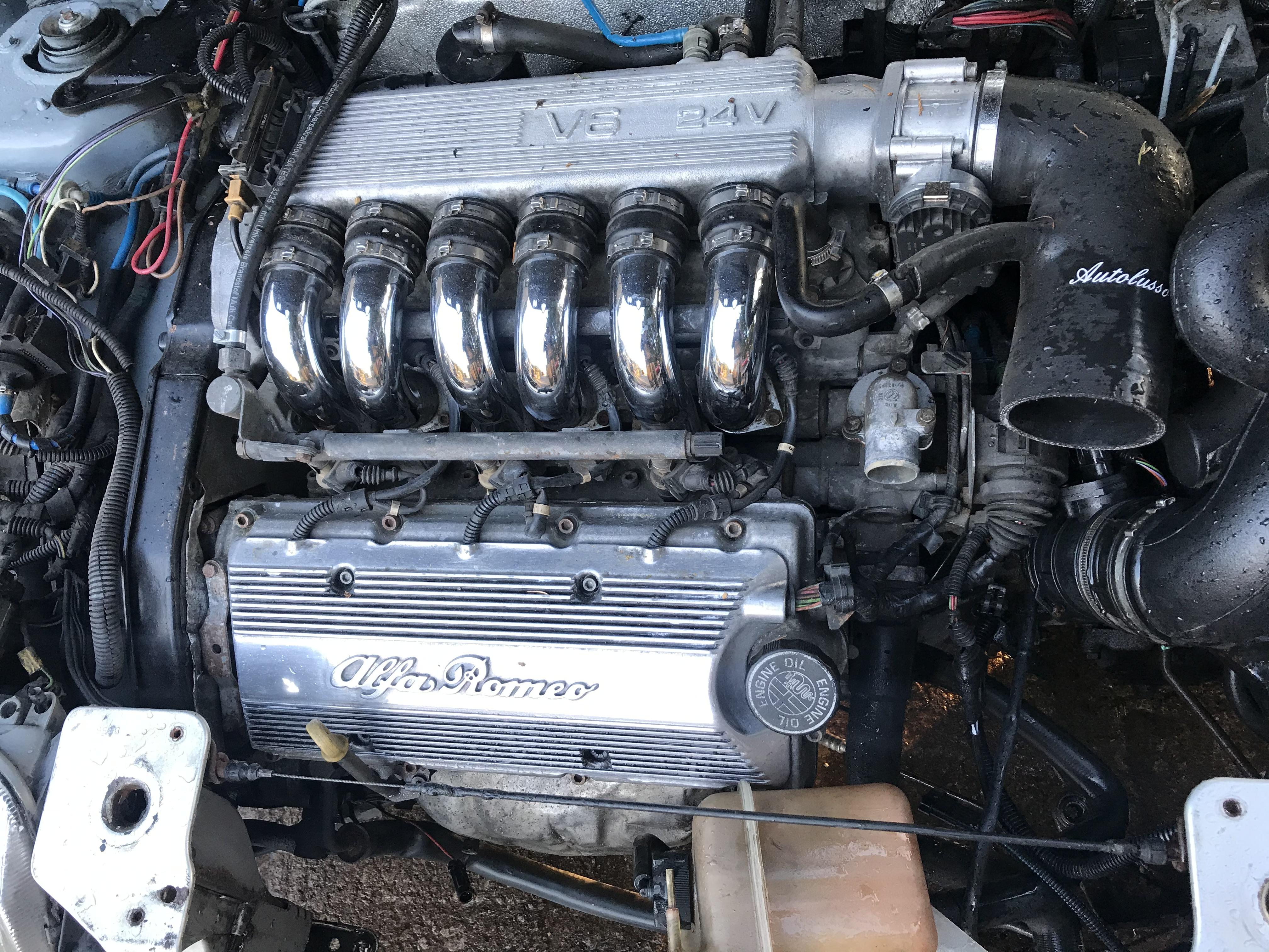 Alfa Romeo 3.0 V6 24v Engine Complete GTV Spider AR16102