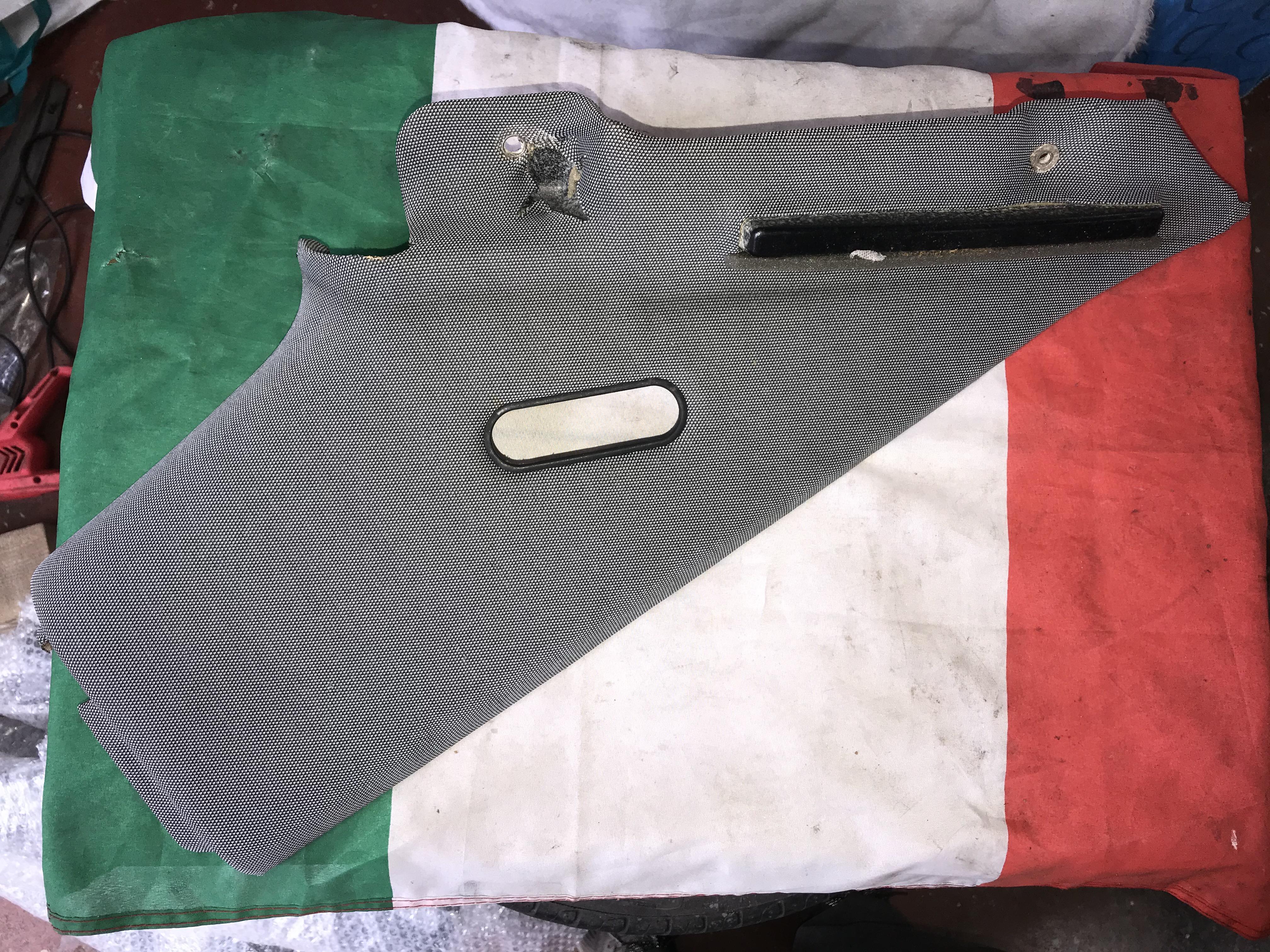 Alfa Romeo GTV 916 Limited Edition Cup C-pillar Cover Panel, Left Sx C-post