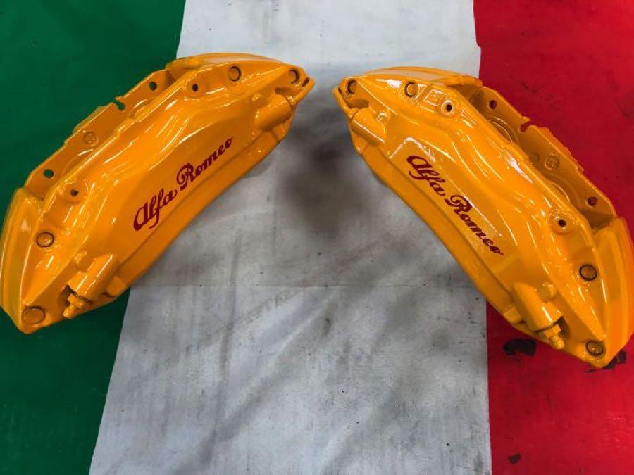yellow 330 ts brembo