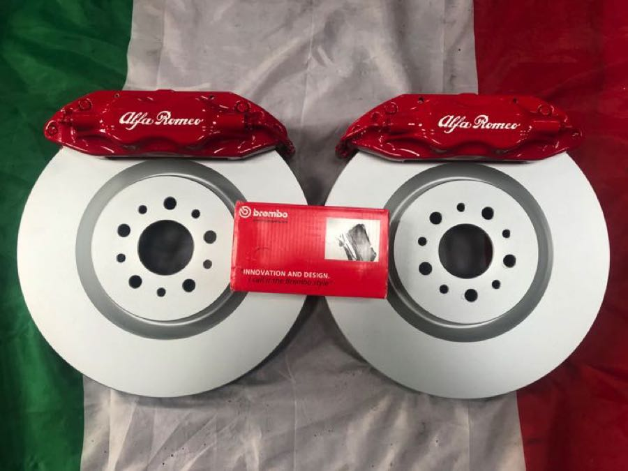 red 330 ts brembo
